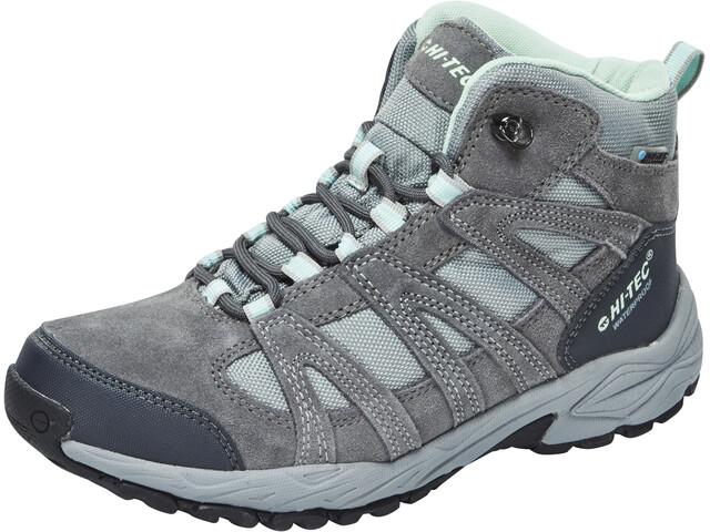 Hi-Tec Alto II Mid WP Kengät Naiset, steel grey/grey/lichen